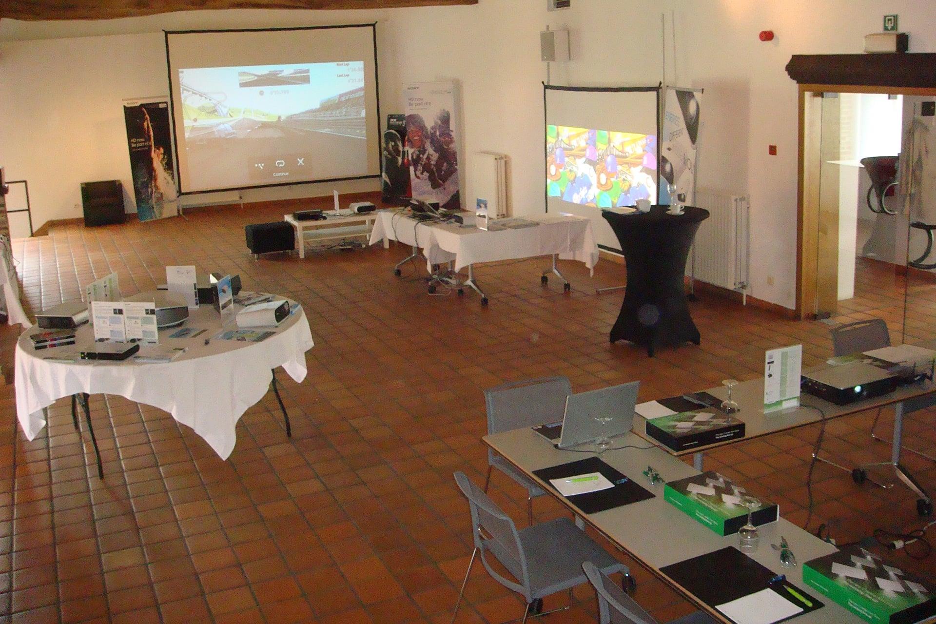 Product presentations - Hof ter Musschen