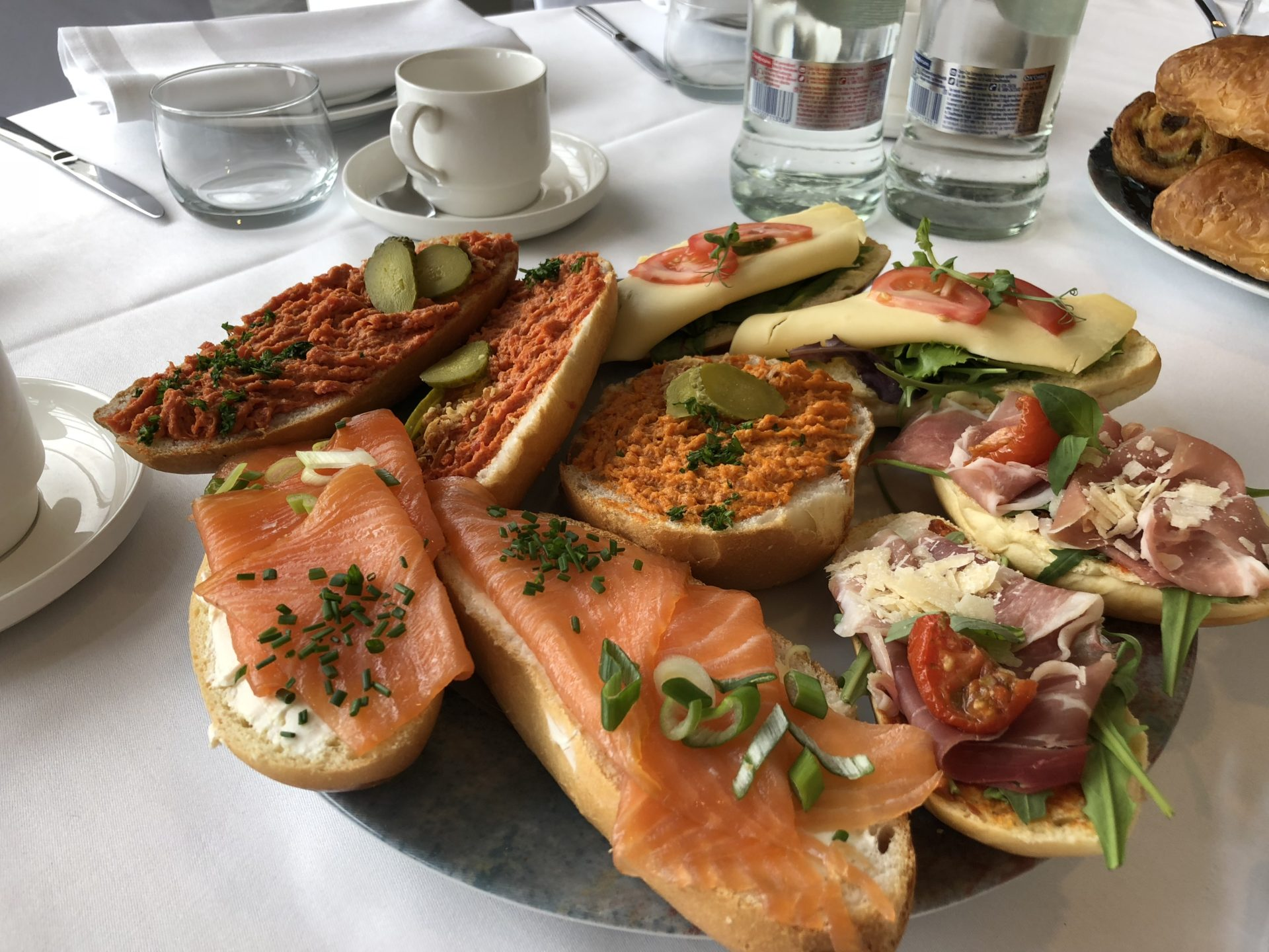 Tea tables - Hof ter Musschen